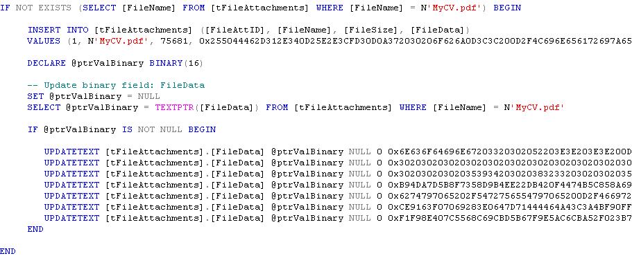 SQL Scripter - Generate Insert, Update, Delete T-SQL