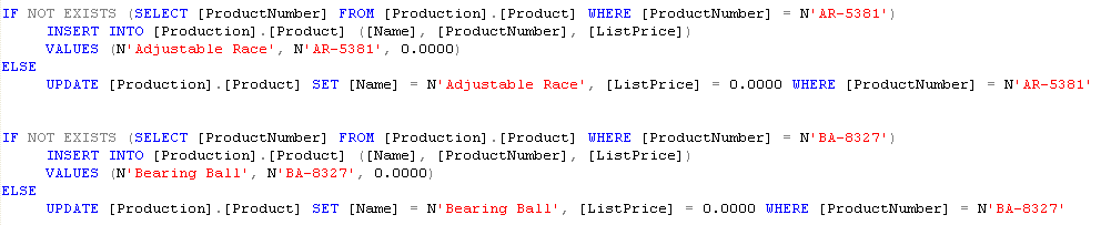 Result Example: Binary fields (exp.: image data type).